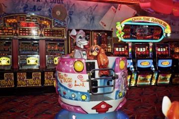 Seaside arcade